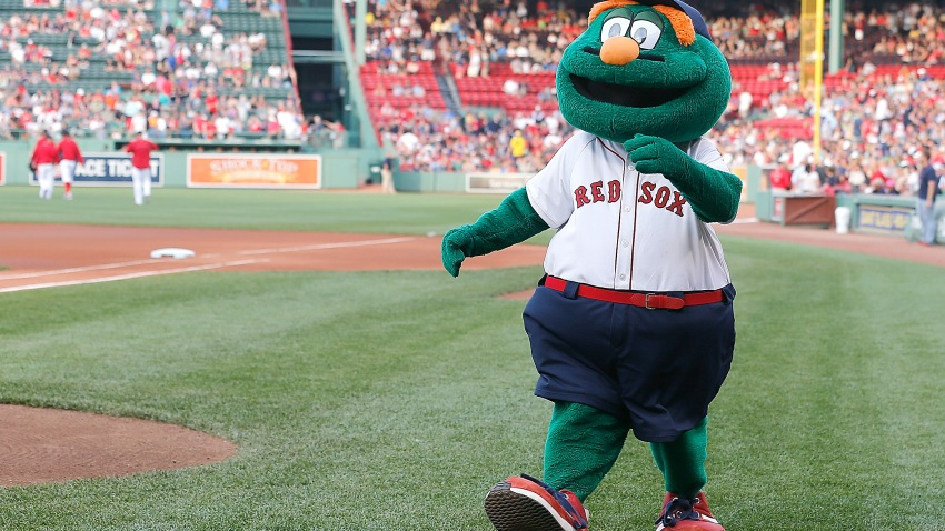 Wally the Green Monster Red Sox Boston Fenway Park