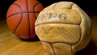 basketball from 1936 Berlin Olympic Games