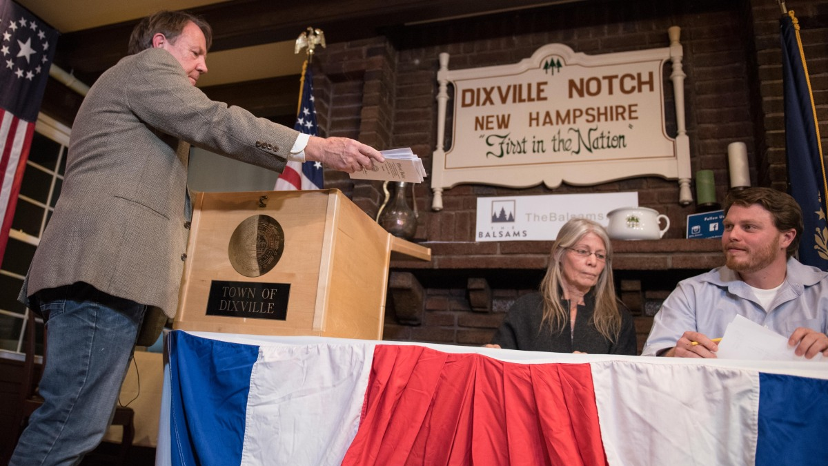 Dixville Notch Finds Enough People to Keep First-In-The-Nation Voting Title