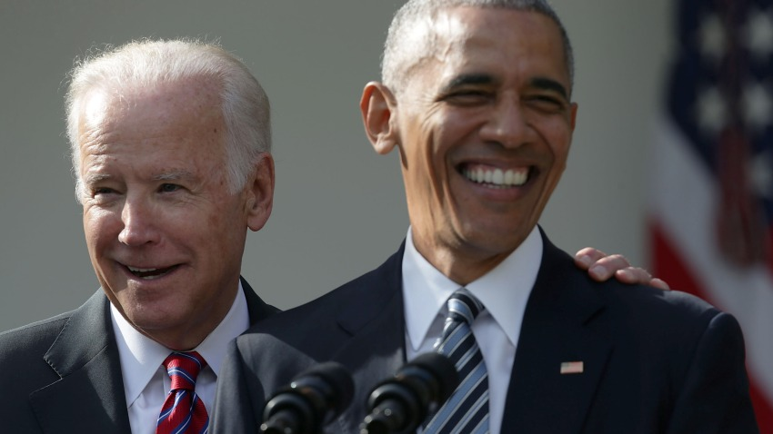 President Barack Obama and Vice President Joseph Biden