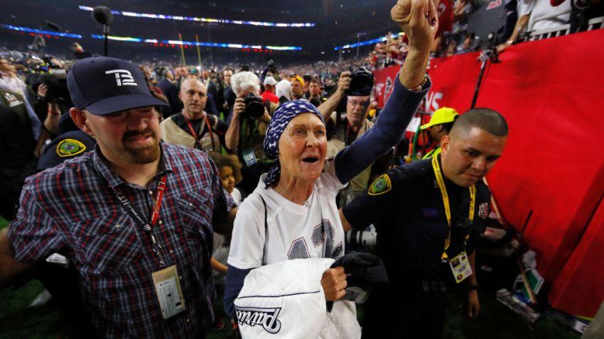 Tom Brady's Parents Celebrate Super Bowl LI Victory