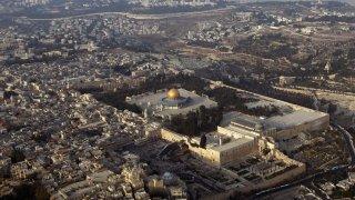 A file photo of the Old City of Jerusalem.