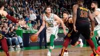 Celtics Forward Hayward Returns From Injury Against Cavaliers