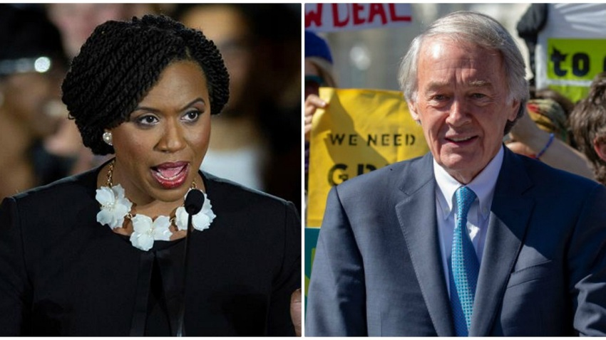 Green New Deal Pressley and Markey
