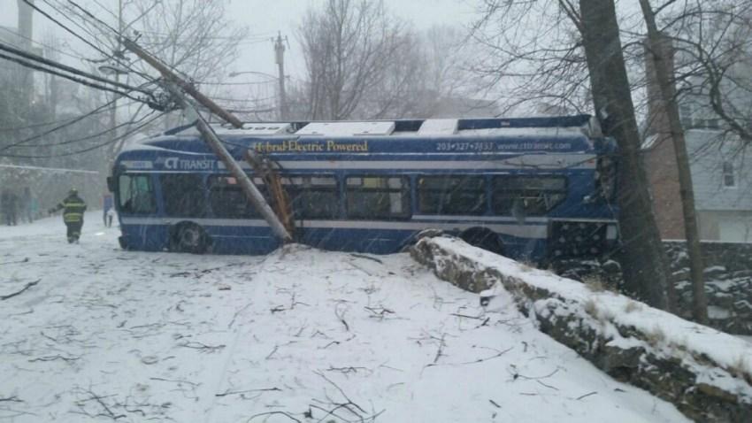 Greenwich CT Transit bus crash 1200