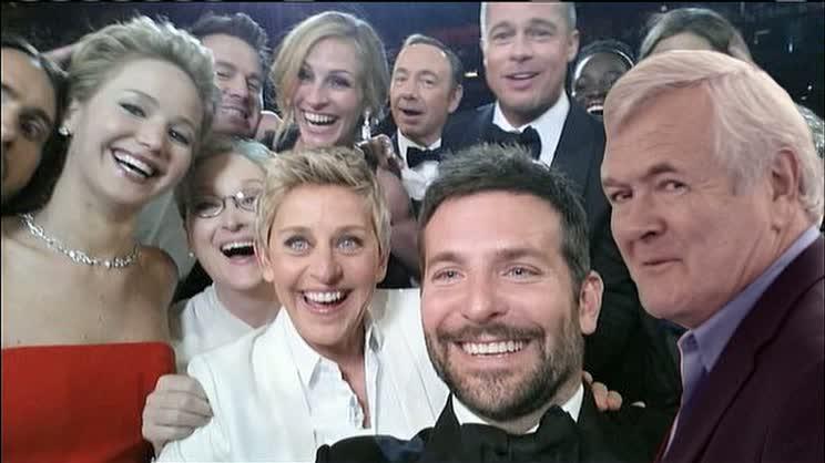 Greg Wayland Oscars Selfie