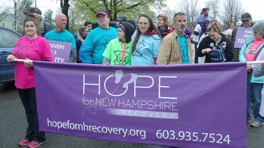 Hope for New Hampshire Walk