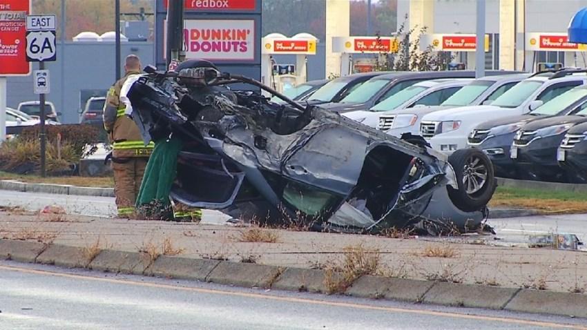 Johnston RI crash