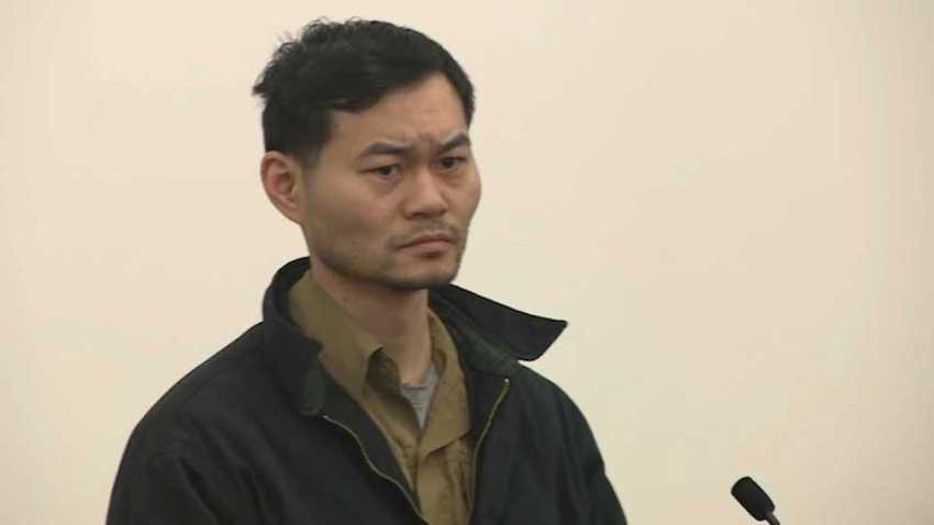 Kang Lu in court