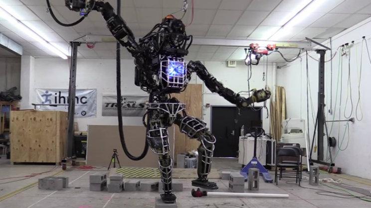 Karate Robot DRCihmcRobotics