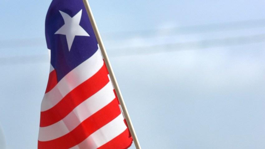 A Liberian flag