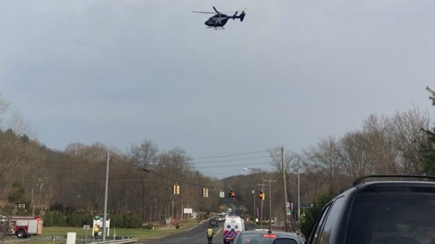 Lifestar responding to Route 6 in andover