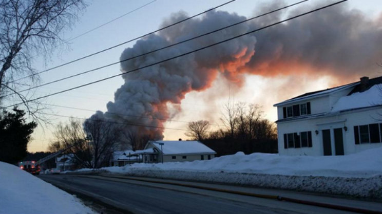 Lincoln Maine Fire