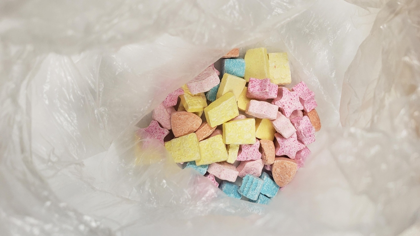 MDMA seized in candy shapes Fall River arrest 08272019