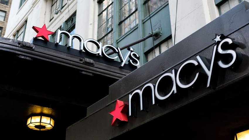 A view of the Macy's flagship store, May 12, 2017, in New York City.