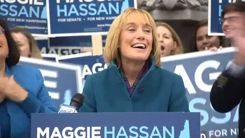 Maggie Hassan Victory