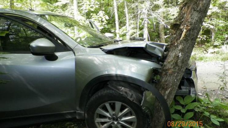 Maine Seflie Crash