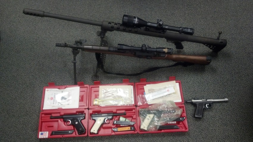 Maine State Police guns for drugs indictments firearms