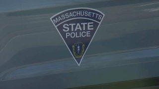 Massachusetts State Police Cruiser Close Up