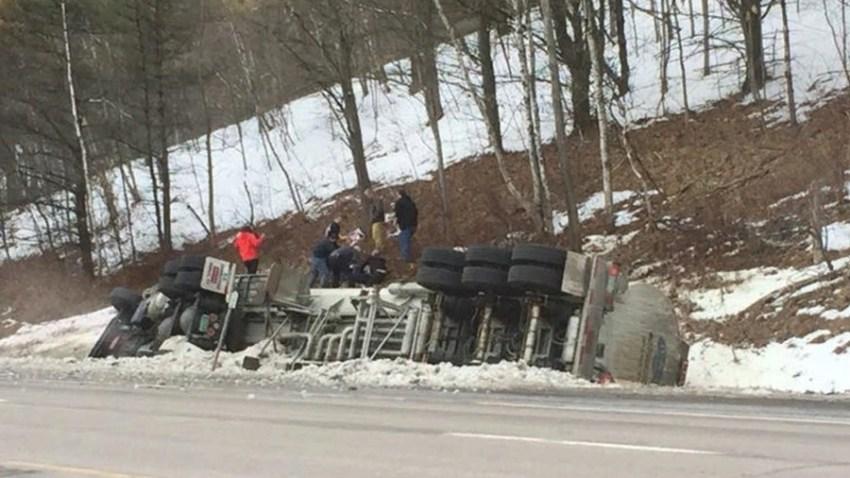 Middlesex Vermont fatal tractor trailer crash