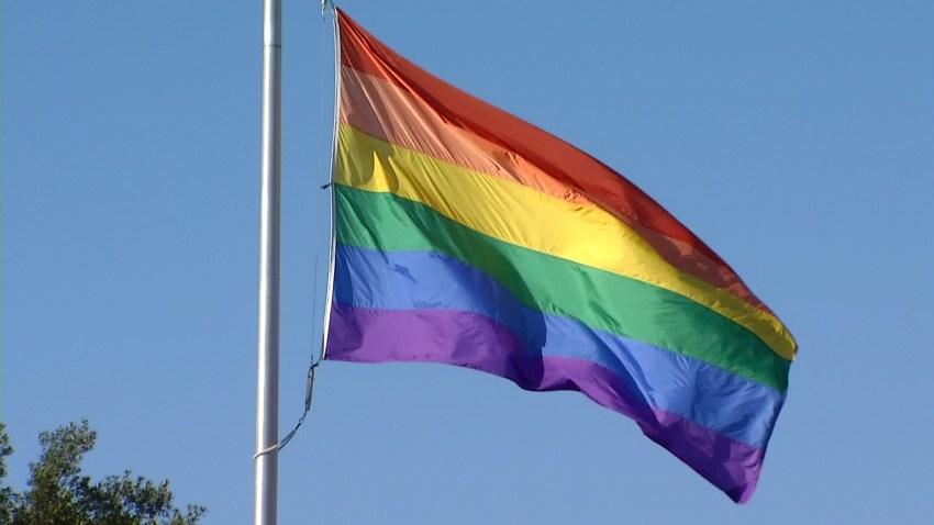 File photo of a Pride flag.