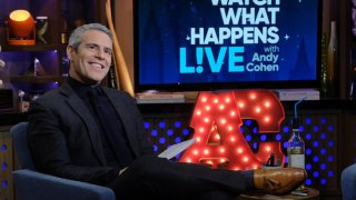 """Host Andy Cohen on """"Watch What Happens Live"""""""