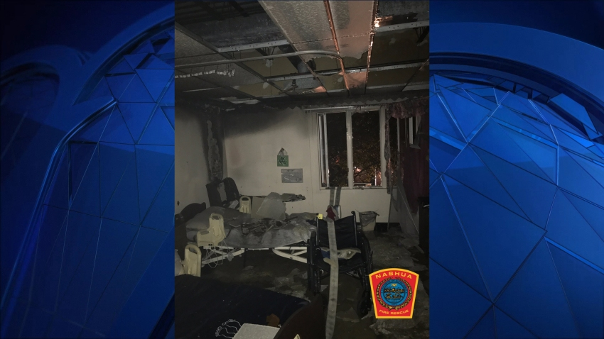 Nashua nursing room fire