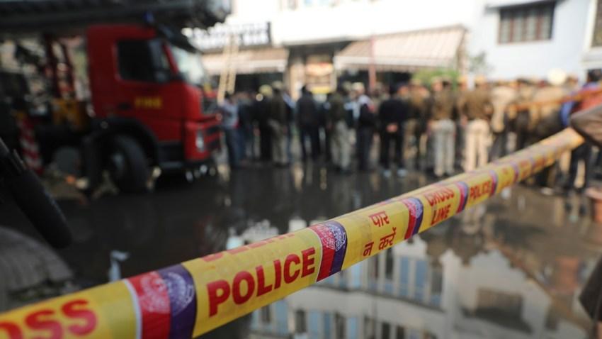 India Hotel Fire