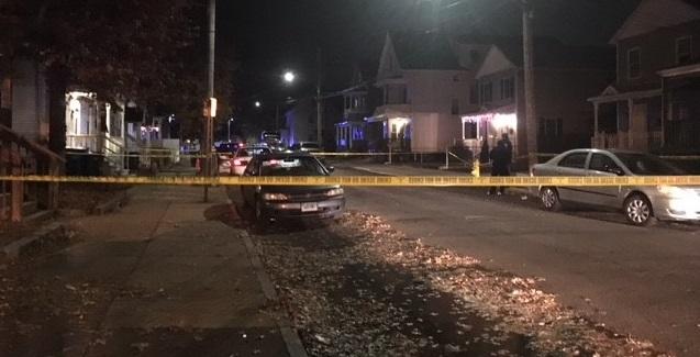 New Haven shooting Greenwood Street