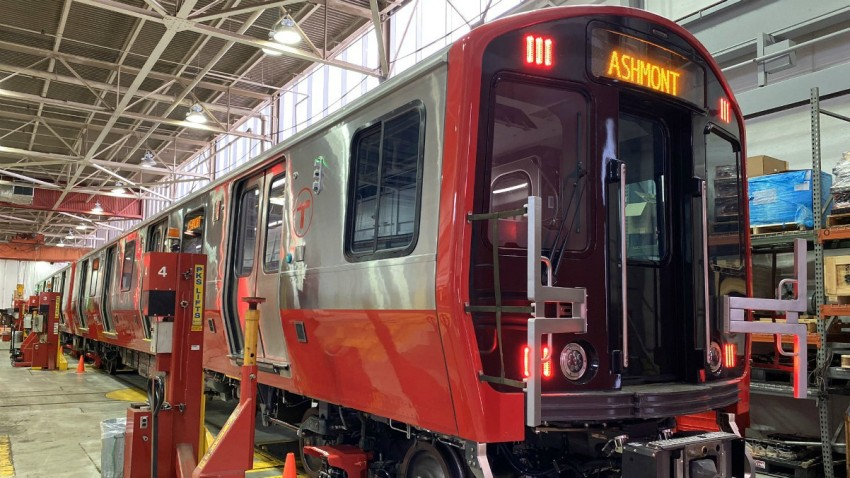 New MBTA Red Line Cars
