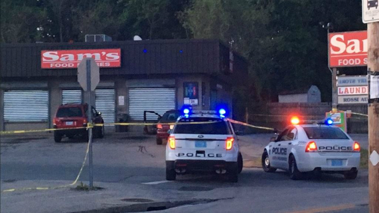 North Providence RI Store Shooting