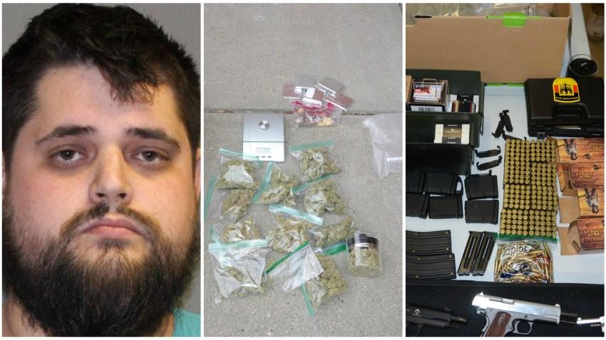 Norwood PD Drug Guns Bust 040819