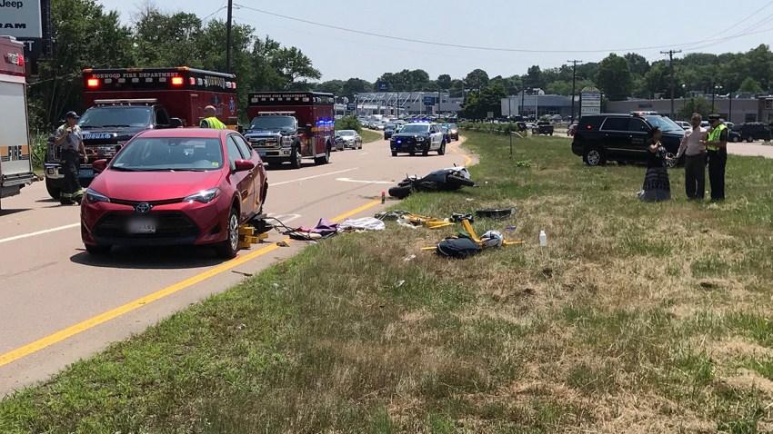 Norwood motorcyle crash