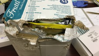 Several nursing homes reported getting rotted or moldy cases of supplies.