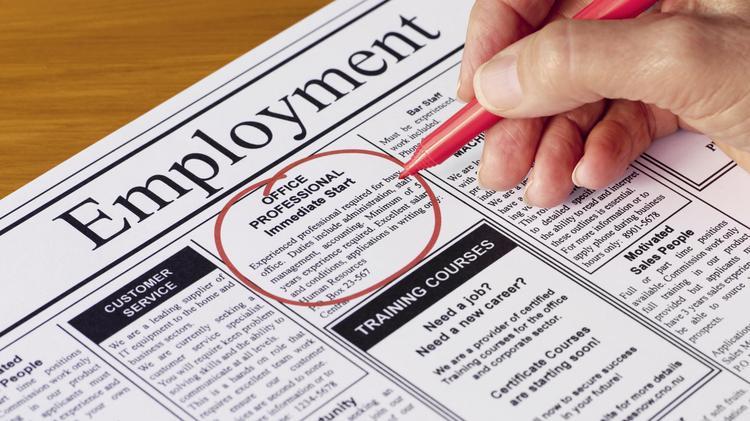 PBJ unemployment picture