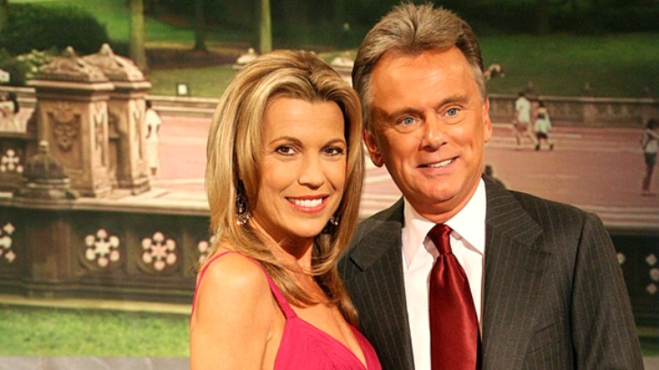 Pat Sajak and White