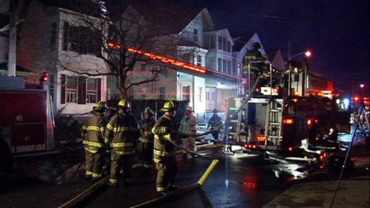 Pawtucket Fire Warren Avenue