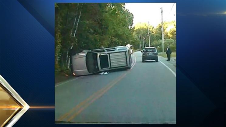 Pelham NH SUV Rollover