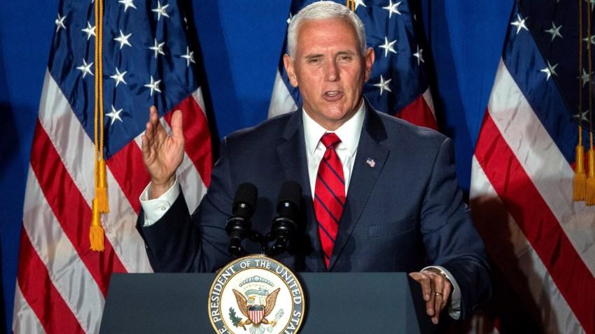"""El vicepresidente de Estados Unidos lanza en Miami """"Latinos for"""