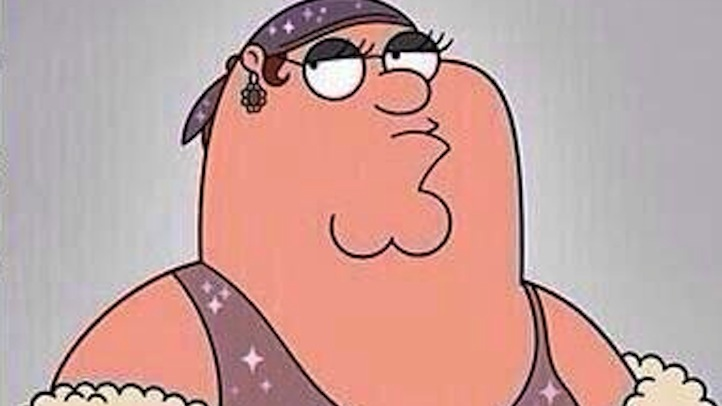 Peter Griffin Rihanna crop
