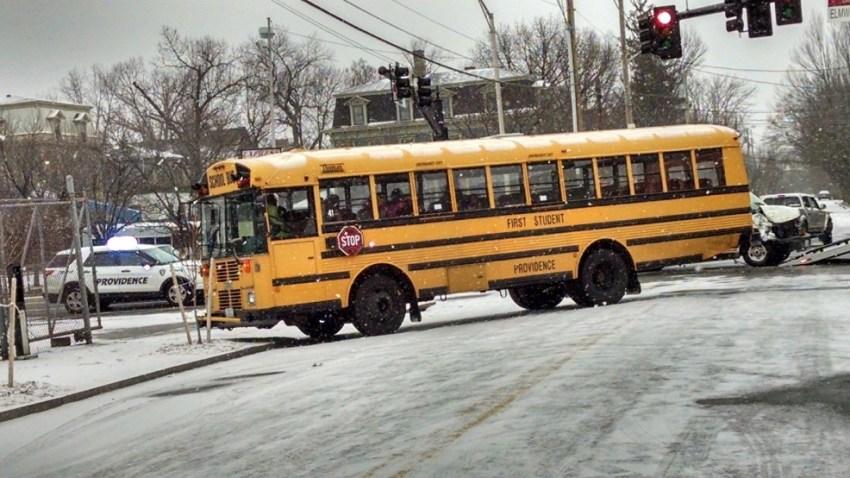 Providence Bus Crash Elmwood