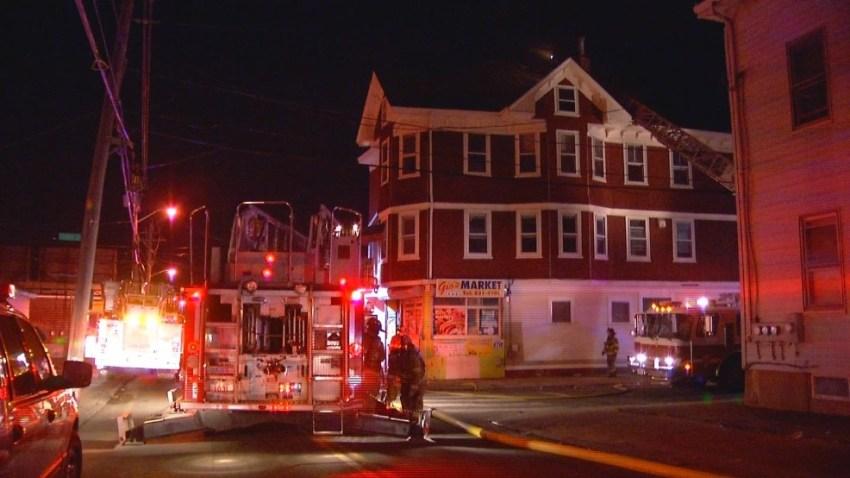 Providence Market Fire