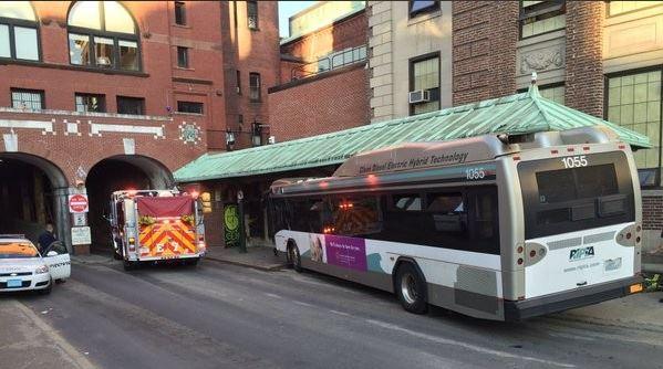 Providence RI Shelter Bus Crash
