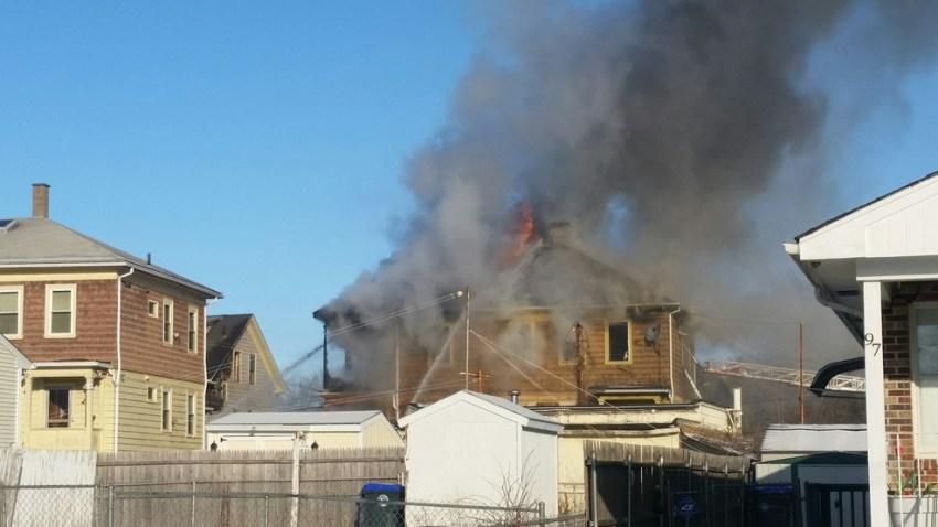 Providence RI house explosion fire WJAR