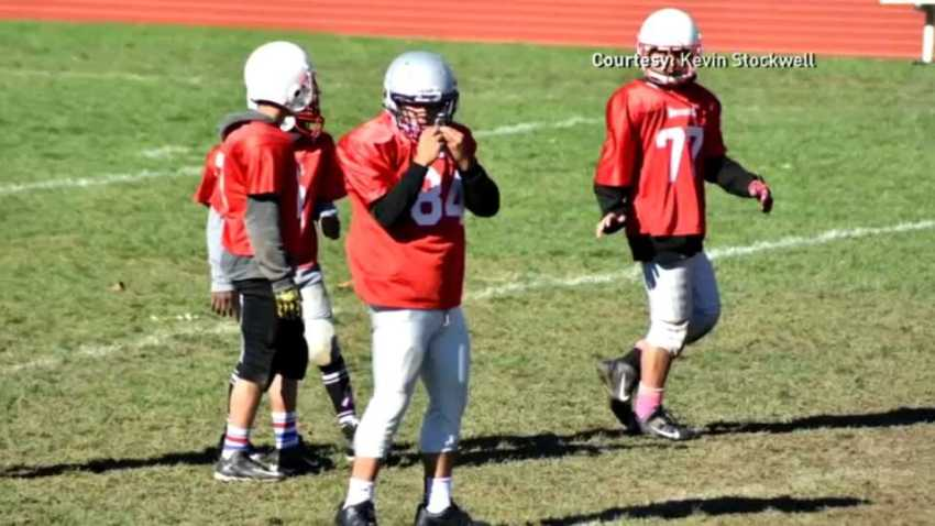 Providence RI pee wee football team Kevin Stockwell