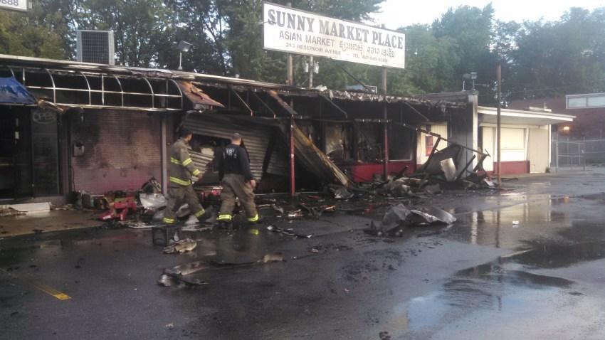 Providence Strip Mall Fire