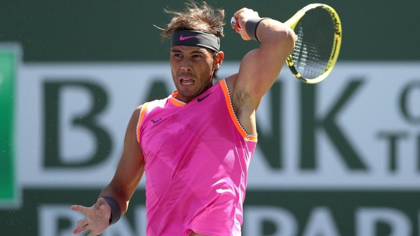 Rafael Nadal at Indian Wells 2019