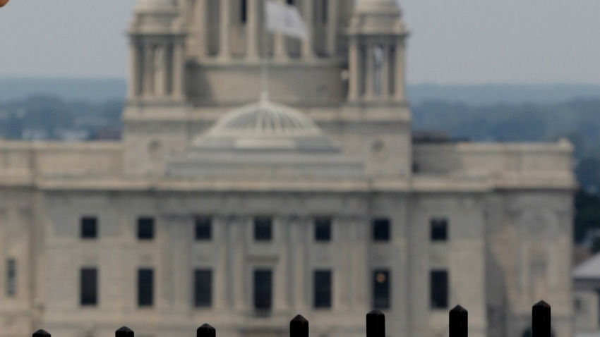 Rhode Island Capitol Building Blury