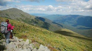 Rich Moffitt Hiking Mount Washington