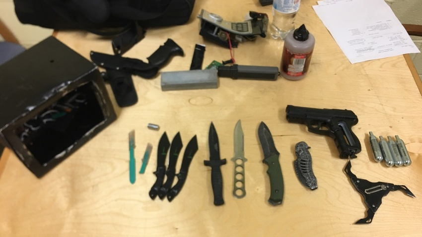 Rios Weapons Cache